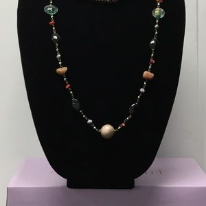 Jewelry - 3/$20 beaded Long Multicolor Necklace